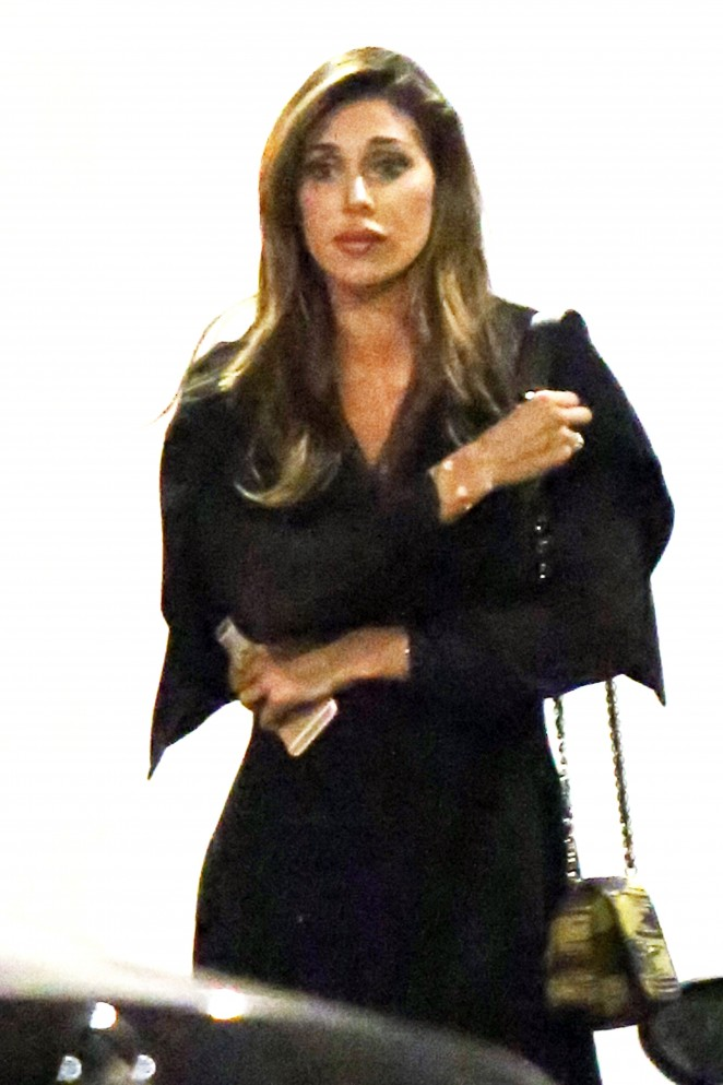 Belen Rodriguez and Claudia Galanti out in Milan