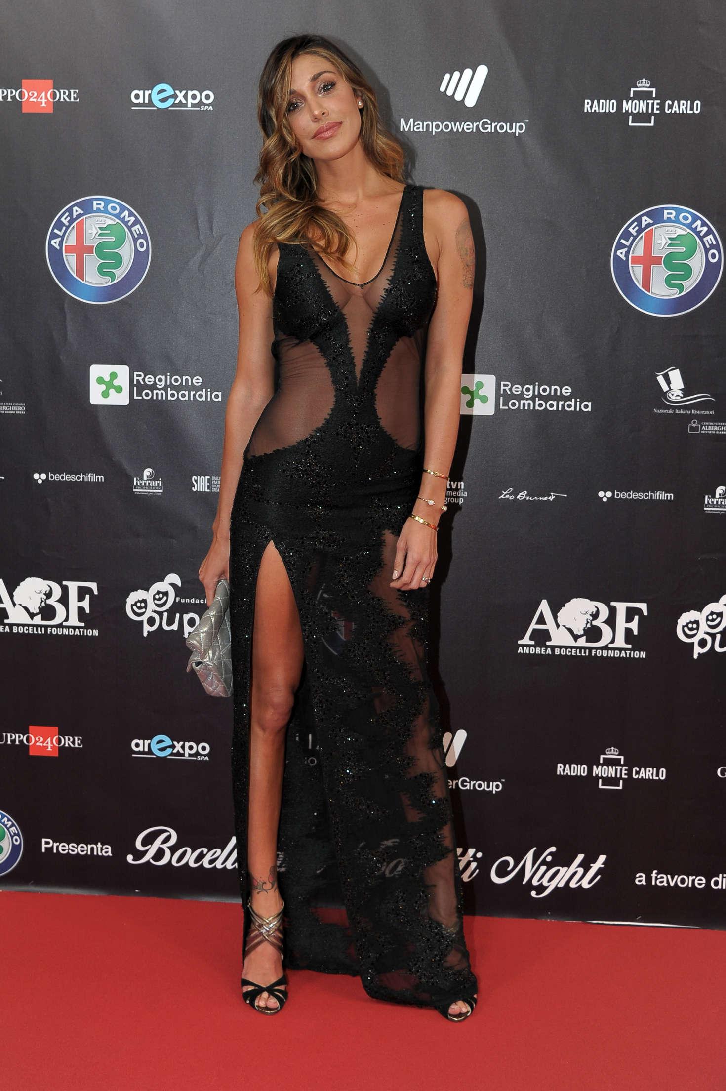 Belen Rodriguez 2016 : Belen Rodriguez: Bocelli and Zanetti Night -01