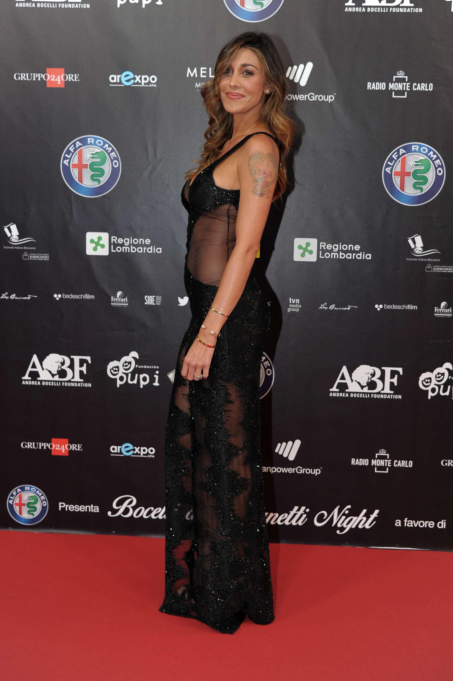 Belen Rodriguez 2016 : Belen Rodriguez: Bocelli and Zanetti Night -02