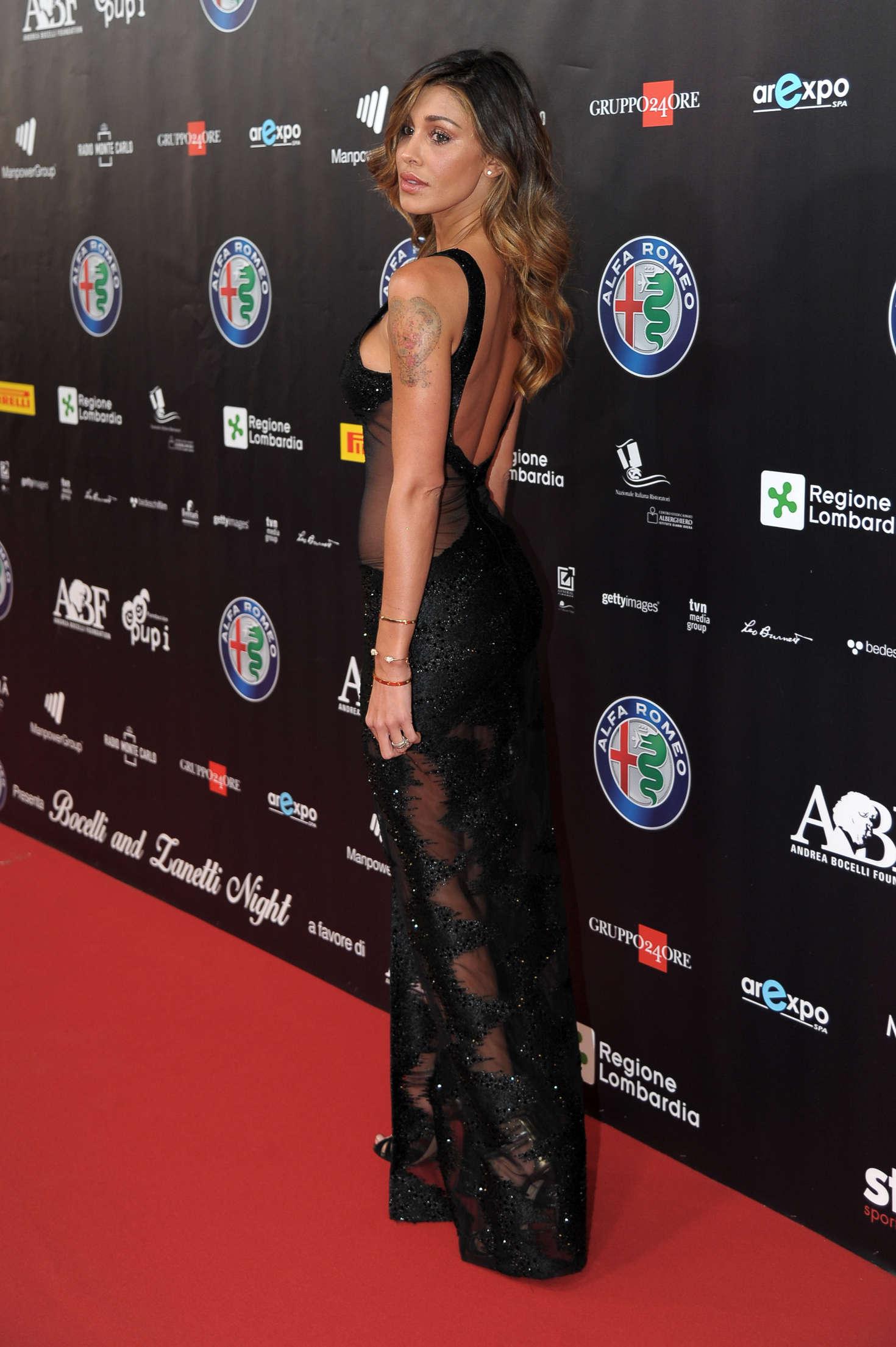 Belen Rodriguez 2016 : Belen Rodriguez: Bocelli and Zanetti Night -03