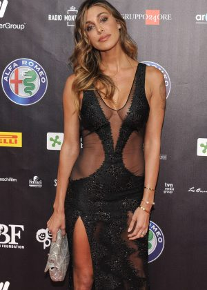 Belen Rodriguez - Bocelli and Zanetti Night in Italy