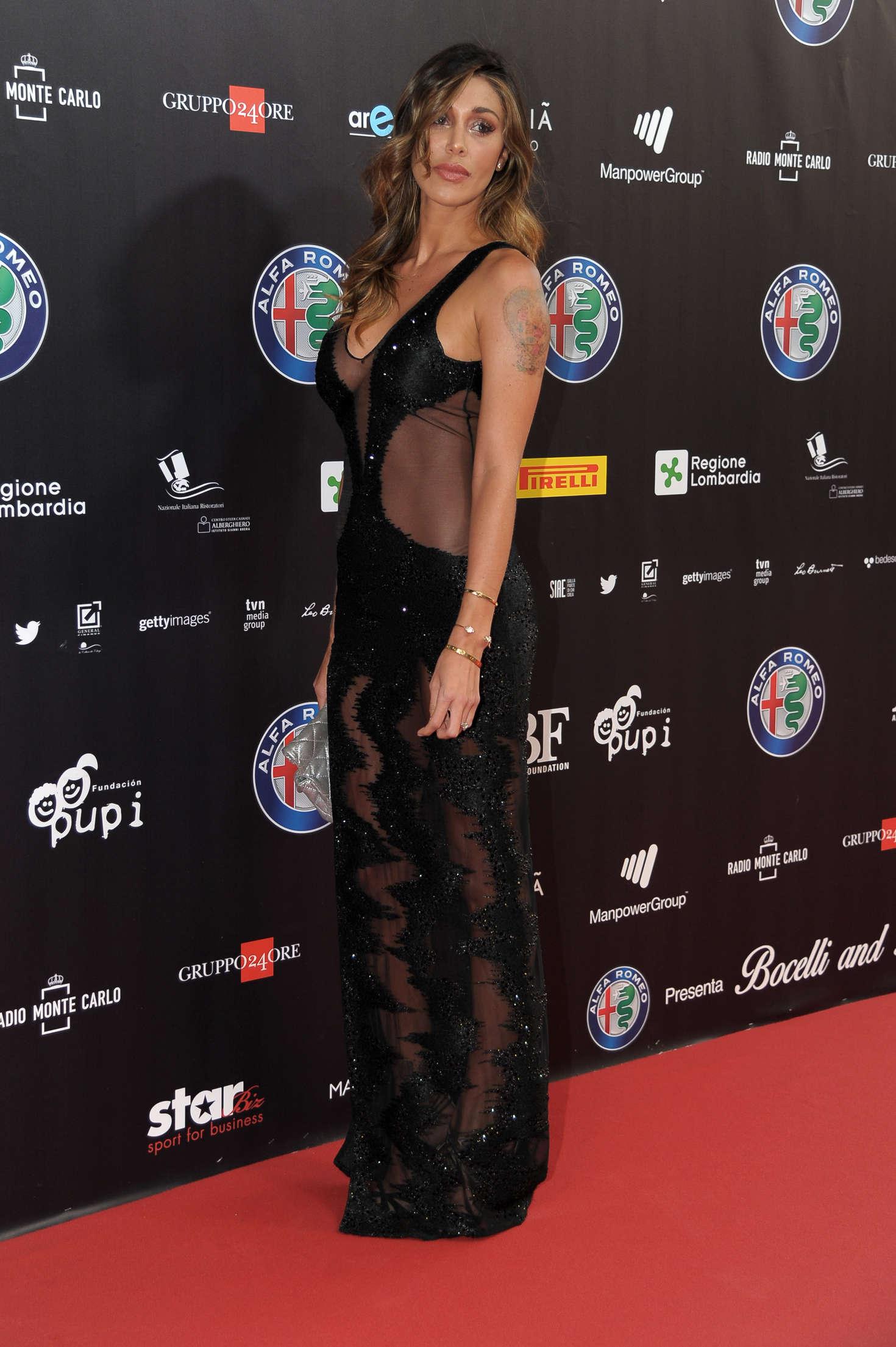 Belen Rodriguez 2016 : Belen Rodriguez: Bocelli and Zanetti Night -06