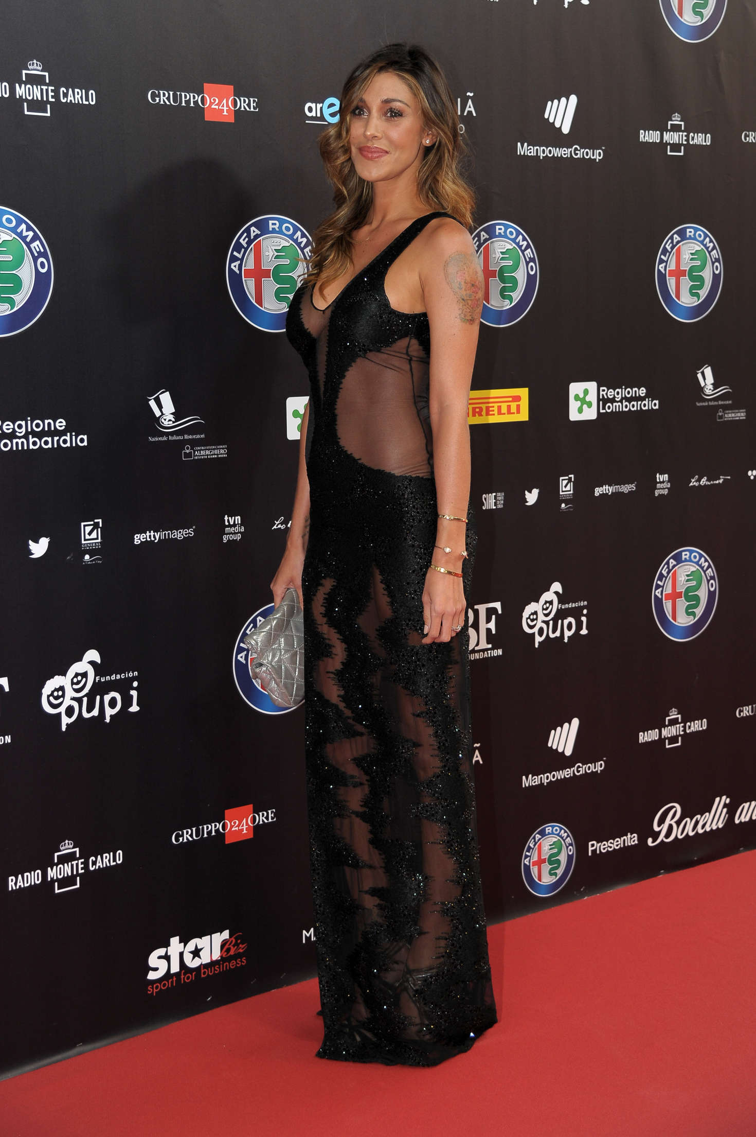 Belen Rodriguez 2016 : Belen Rodriguez: Bocelli and Zanetti Night -07