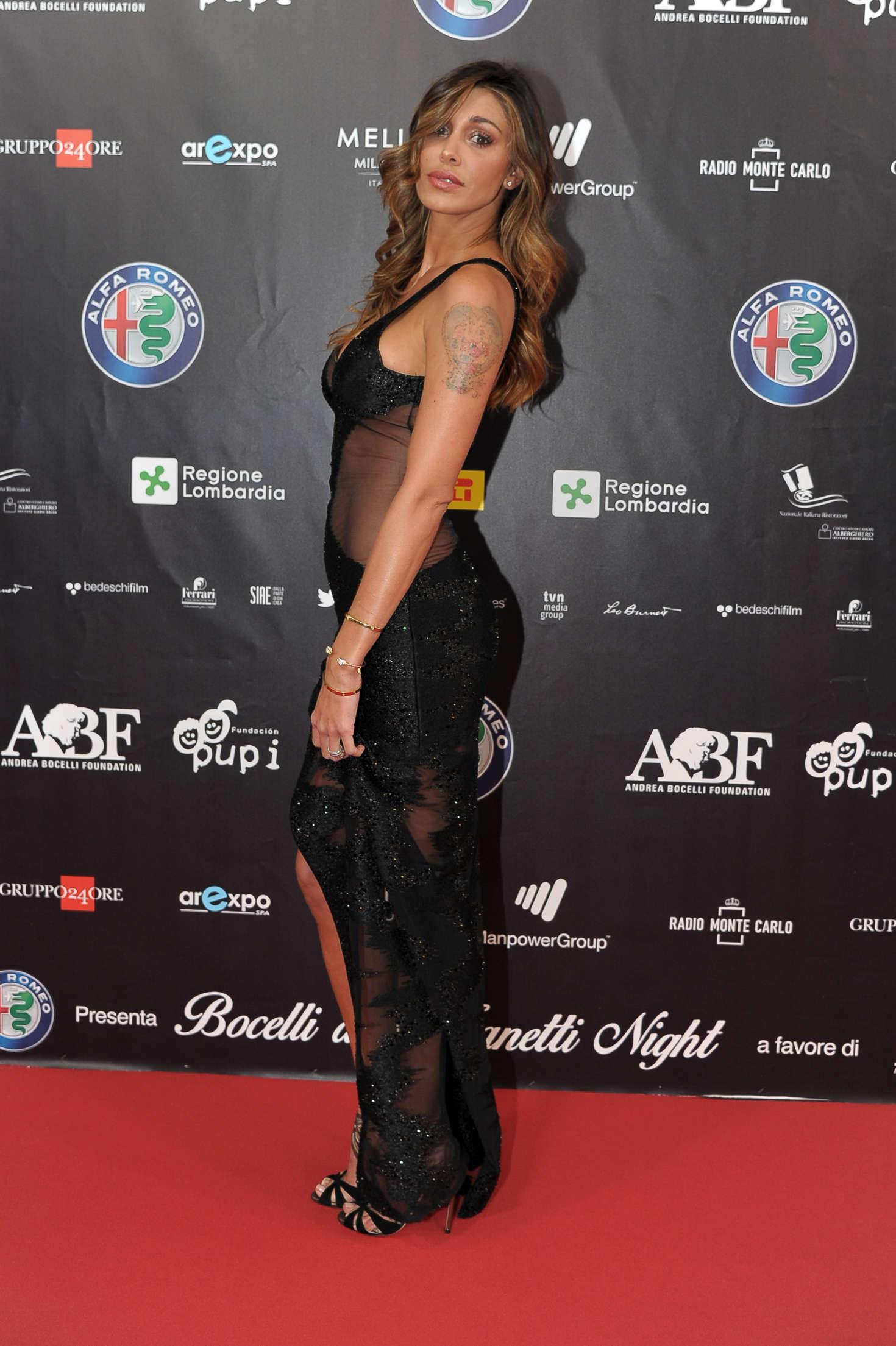 Belen Rodriguez 2016 : Belen Rodriguez: Bocelli and Zanetti Night -09