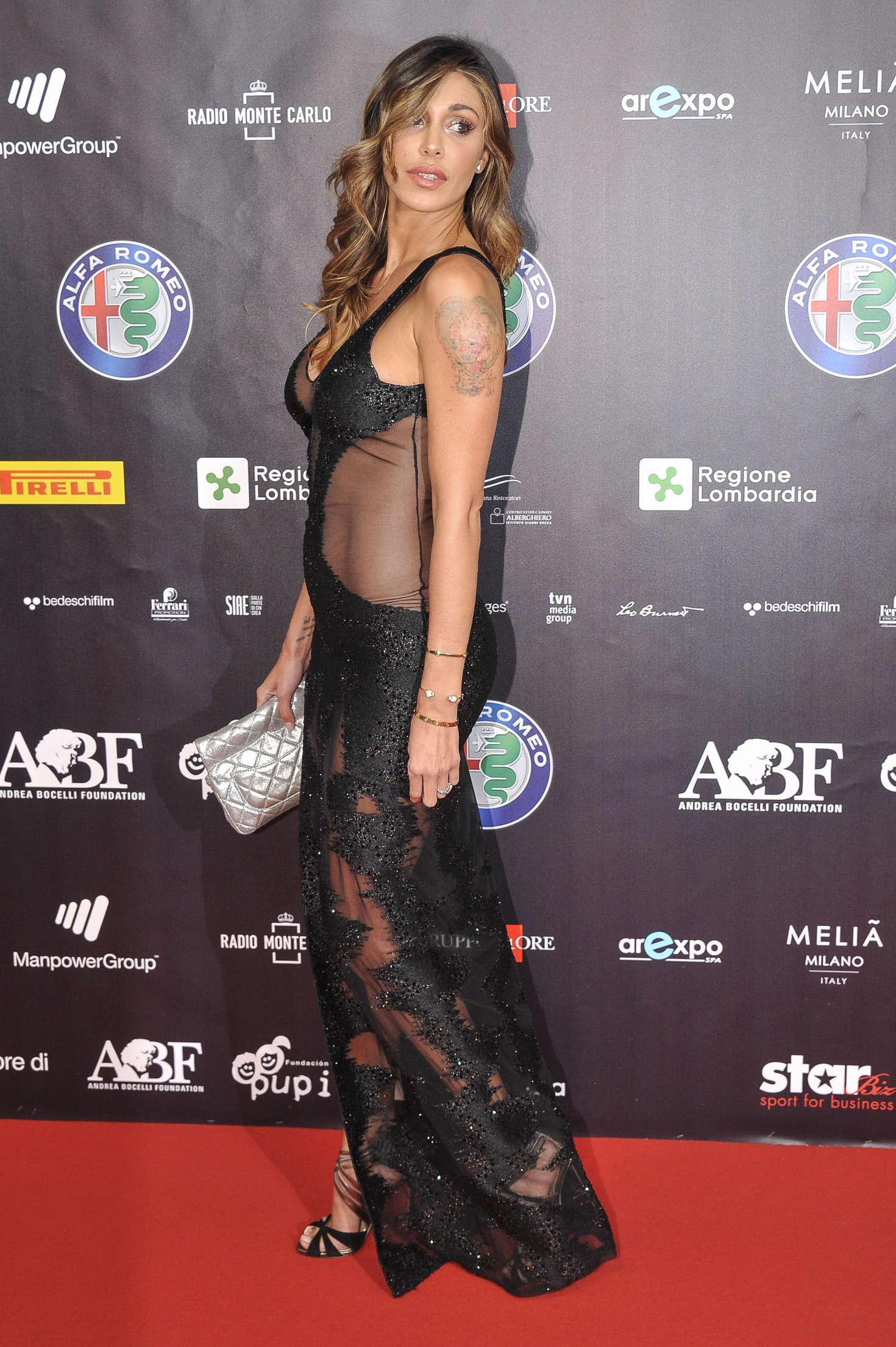 Belen Rodriguez 2016 : Belen Rodriguez: Bocelli and Zanetti Night -10