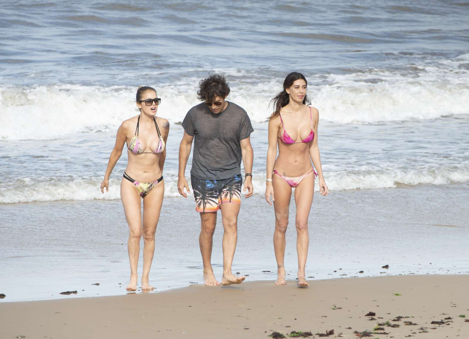 Belen Rodriguez in Bikini on a vacation in Punta del Este
