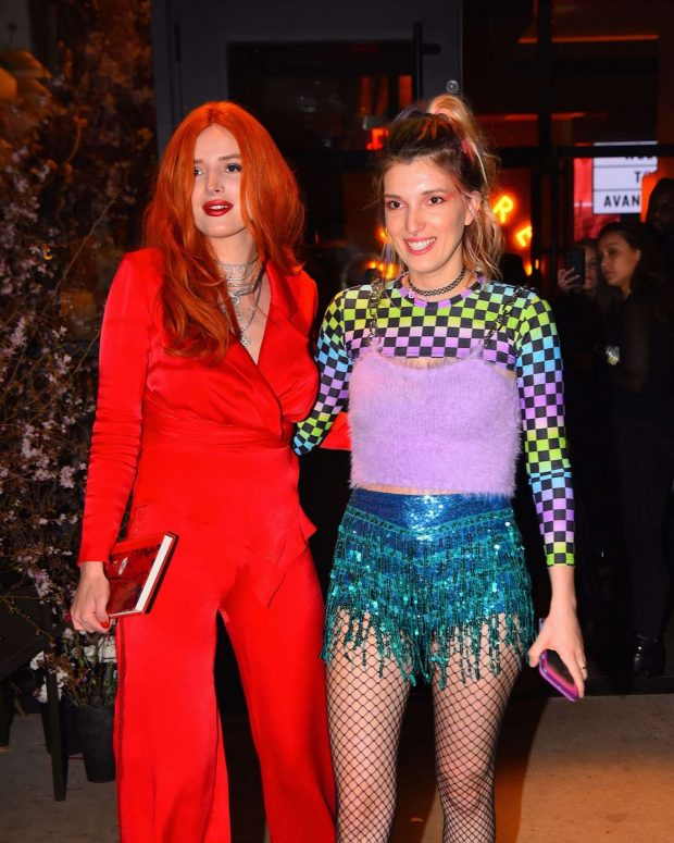 Bella and Dani Thorne - Out in NYC