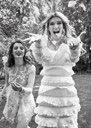 Bella and Dani Thorne - Paper Magazine (December 2017)