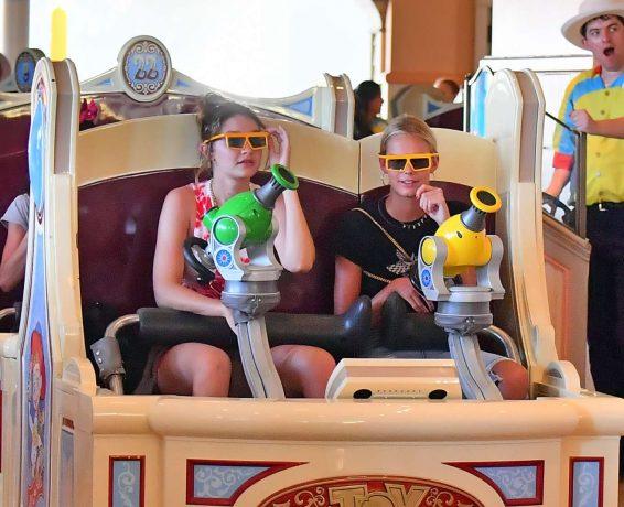 Bella and Gigi Hadid at Disneyland in Anaheim-25