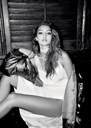 Bella and Gigi Hadid - LOVE Magazine Issue 15 (February 2016)