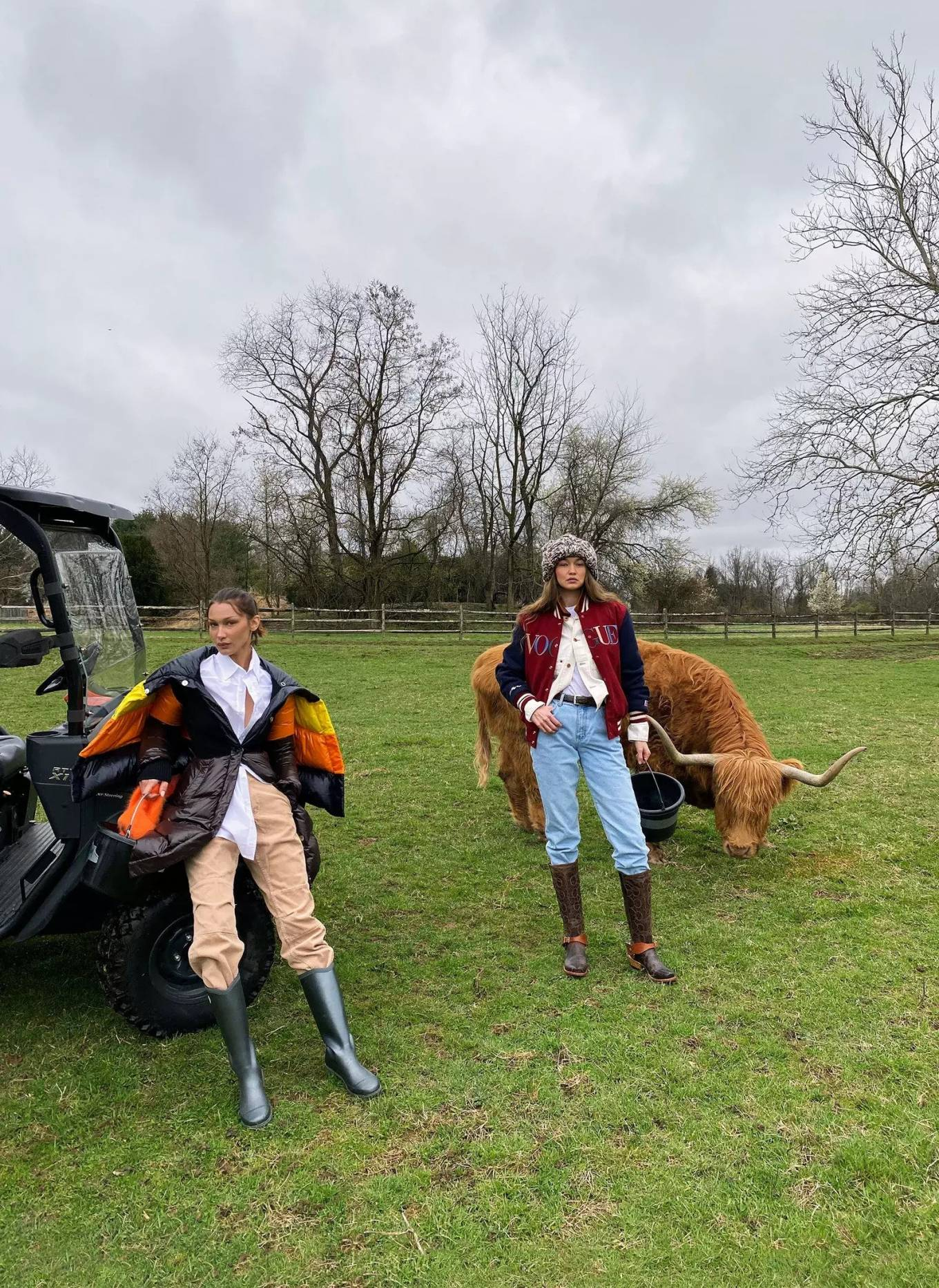Bella and Gigi Hadid - On Their Lives in Quarantine for US Vogue (April 2020)