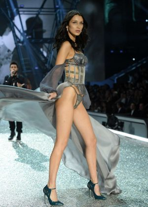 Bella Hadid - 2016 Victoria's Secret Fashion Show Runway in Paris