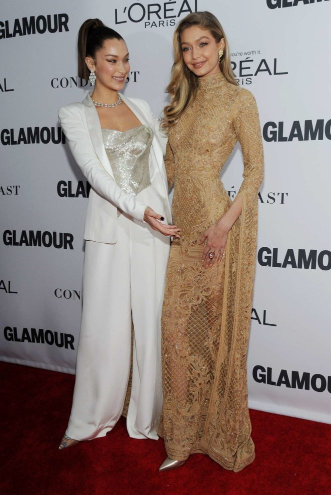 Bella Hadid: 2017 Glamour Women of The Year Awards -09