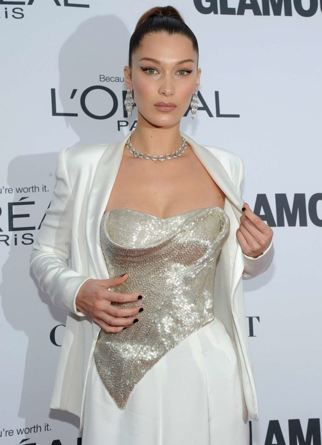 Bella Hadid: 2017 Glamour Women of The Year Awards -13