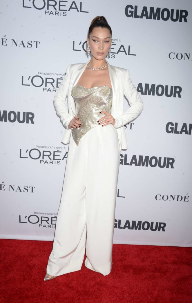 Bella Hadid: 2017 Glamour Women of The Year Awards -14