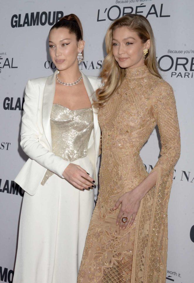Bella Hadid: 2017 Glamour Women of The Year Awards -16