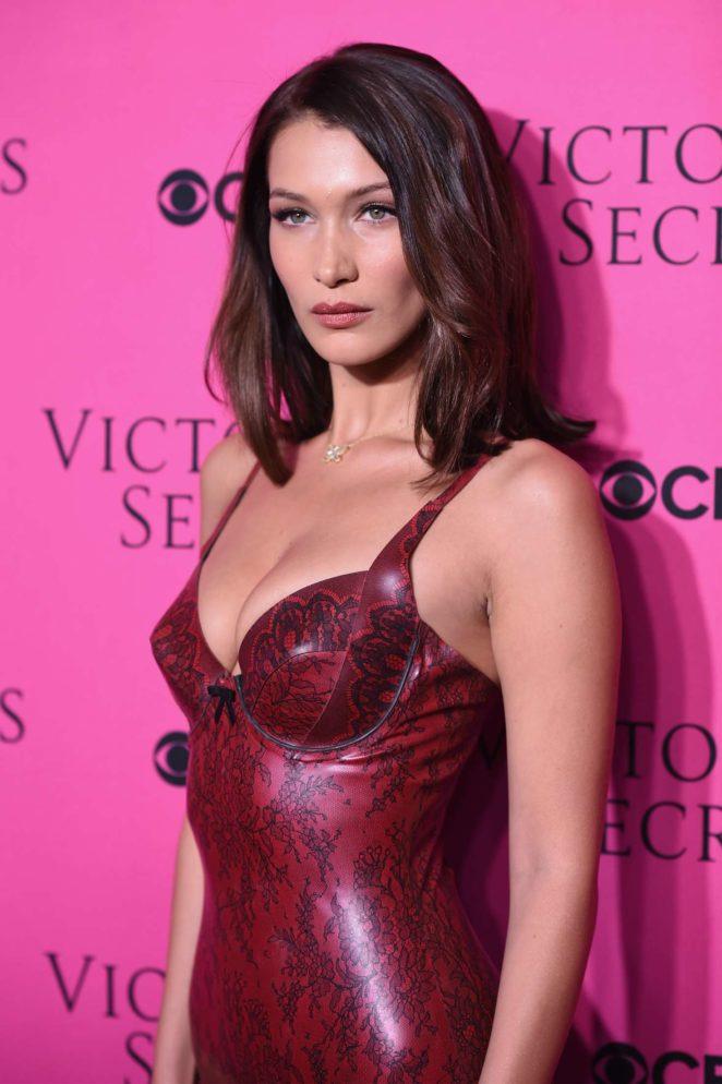 Bella Hadid – 2017 Victoria's Secret Viewing Party in New York City