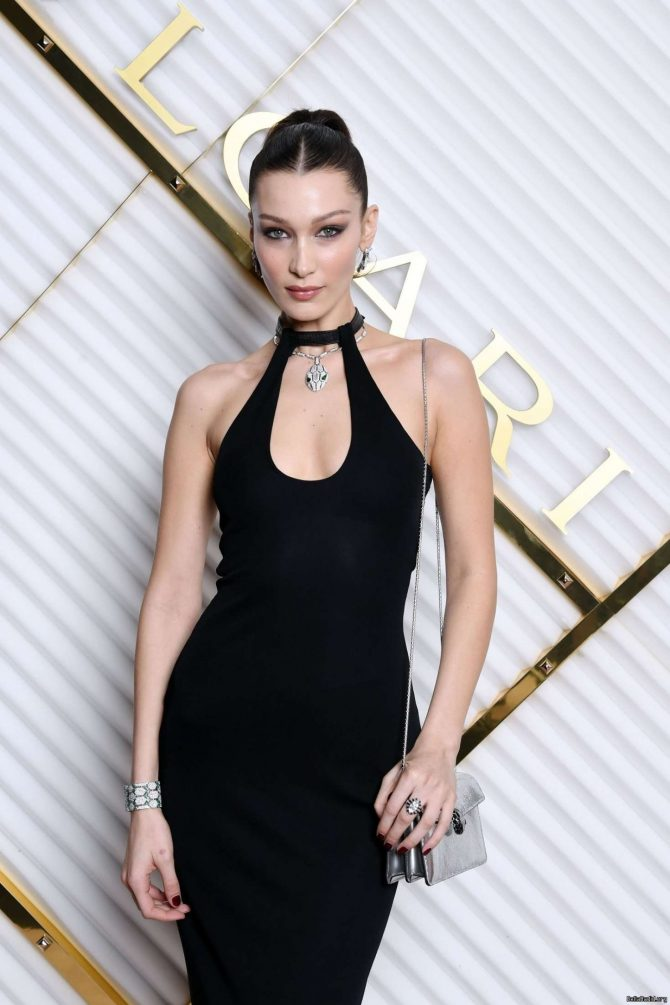 Bella Hadid – 2019 Annual Bulgari Dinner in Milan