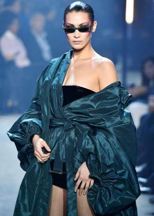 Bella Hadid - Alexandre Vauthier Haute Couture Show Runway 2018 in Paris