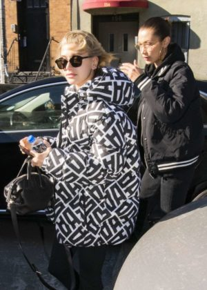 Bella Hadid and Hailey Baldwin - Out and about in NYC