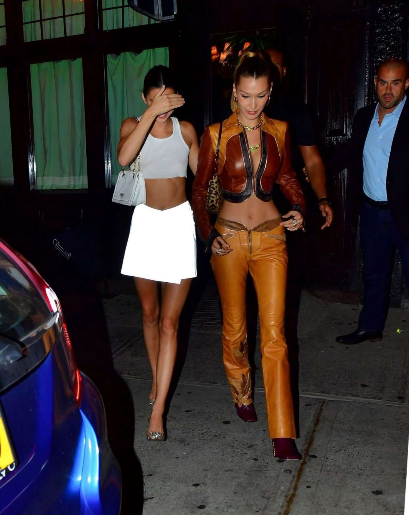 Kendall Jenner 2019 : Bella Hadid and Kendall Jenner at Avenue nightclub-04