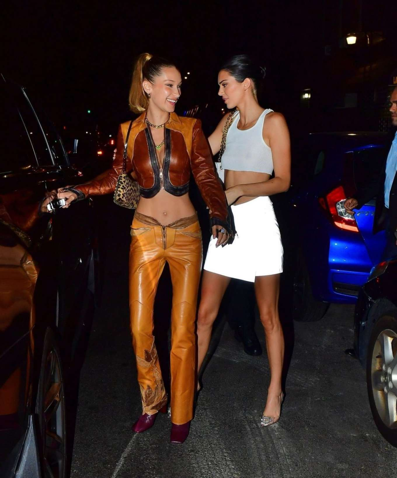 Kendall Jenner 2019 : Bella Hadid and Kendall Jenner at Avenue nightclub-11