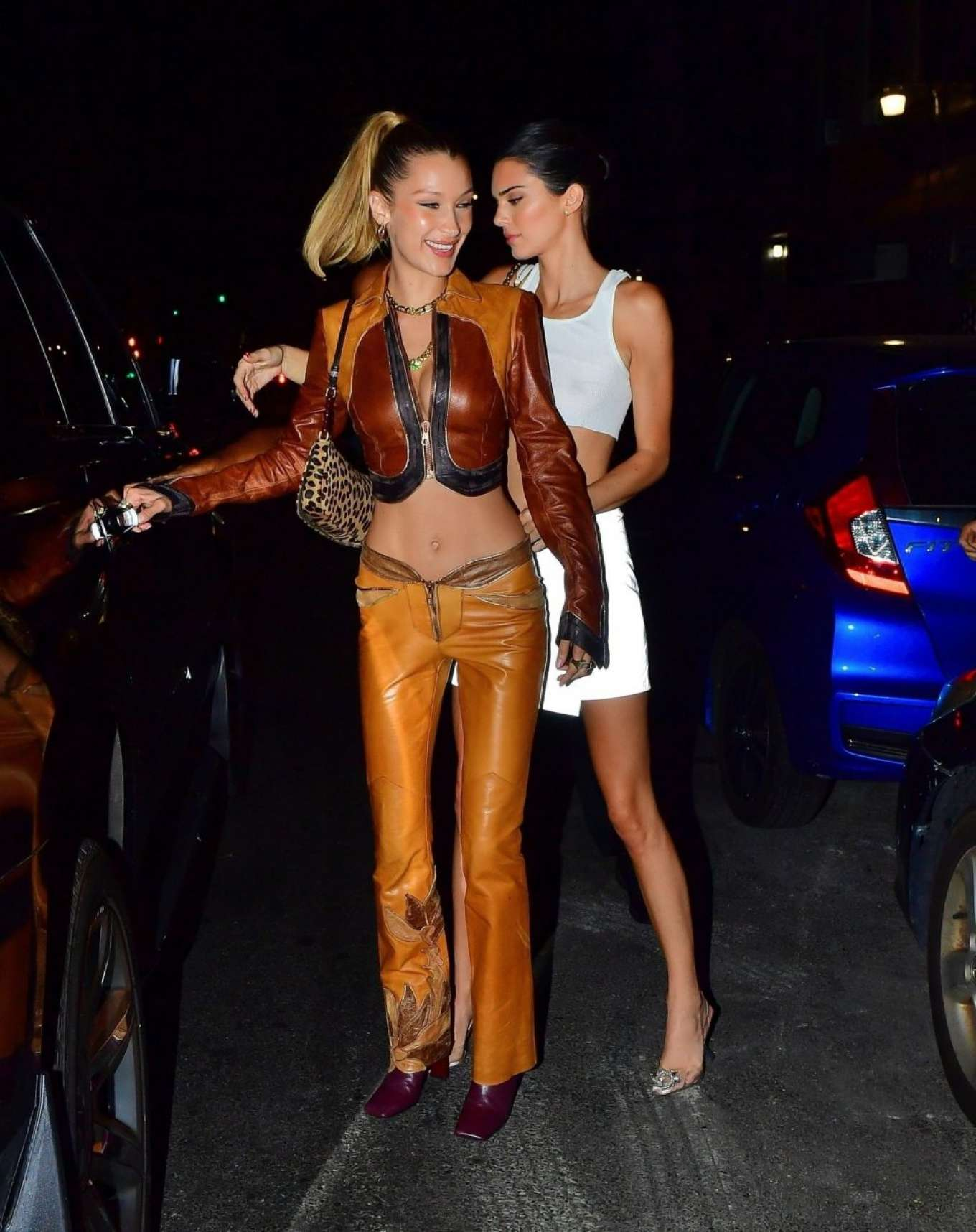 Kendall Jenner 2019 : Bella Hadid and Kendall Jenner at Avenue nightclub-14