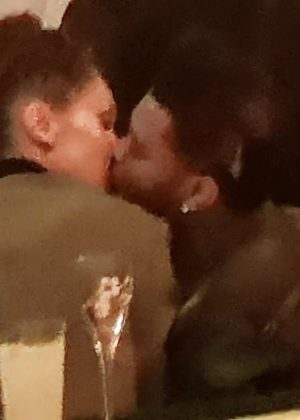Bella Hadid and The Weeknd - Kissing at the Magnum VIP Party in Cannes