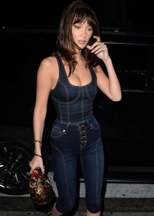 Bella Hadid - Arrives at Bella Hadid x True Religion launch in Los Angeles