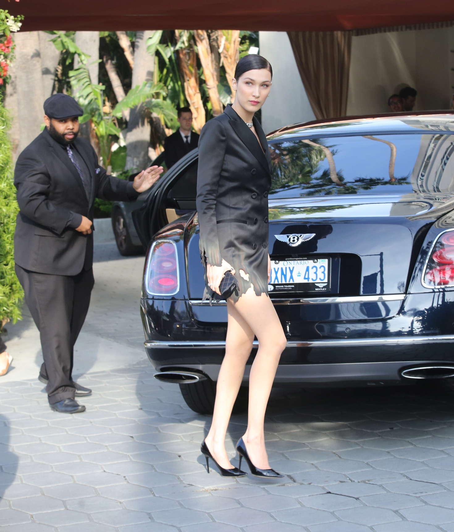 Bella Hadid - Arrives at Fashion Los Angeles Awards 2016 in LA