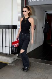 Bella Hadid - Arrives at LAX International Airport in LA