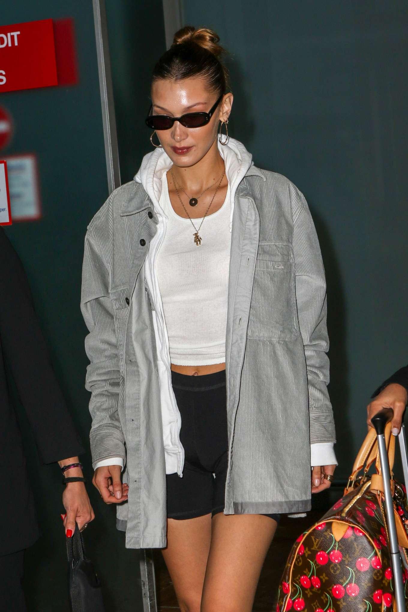 Bella Hadid 2019 : Bella Hadid: Arrives at Nice Airport -05