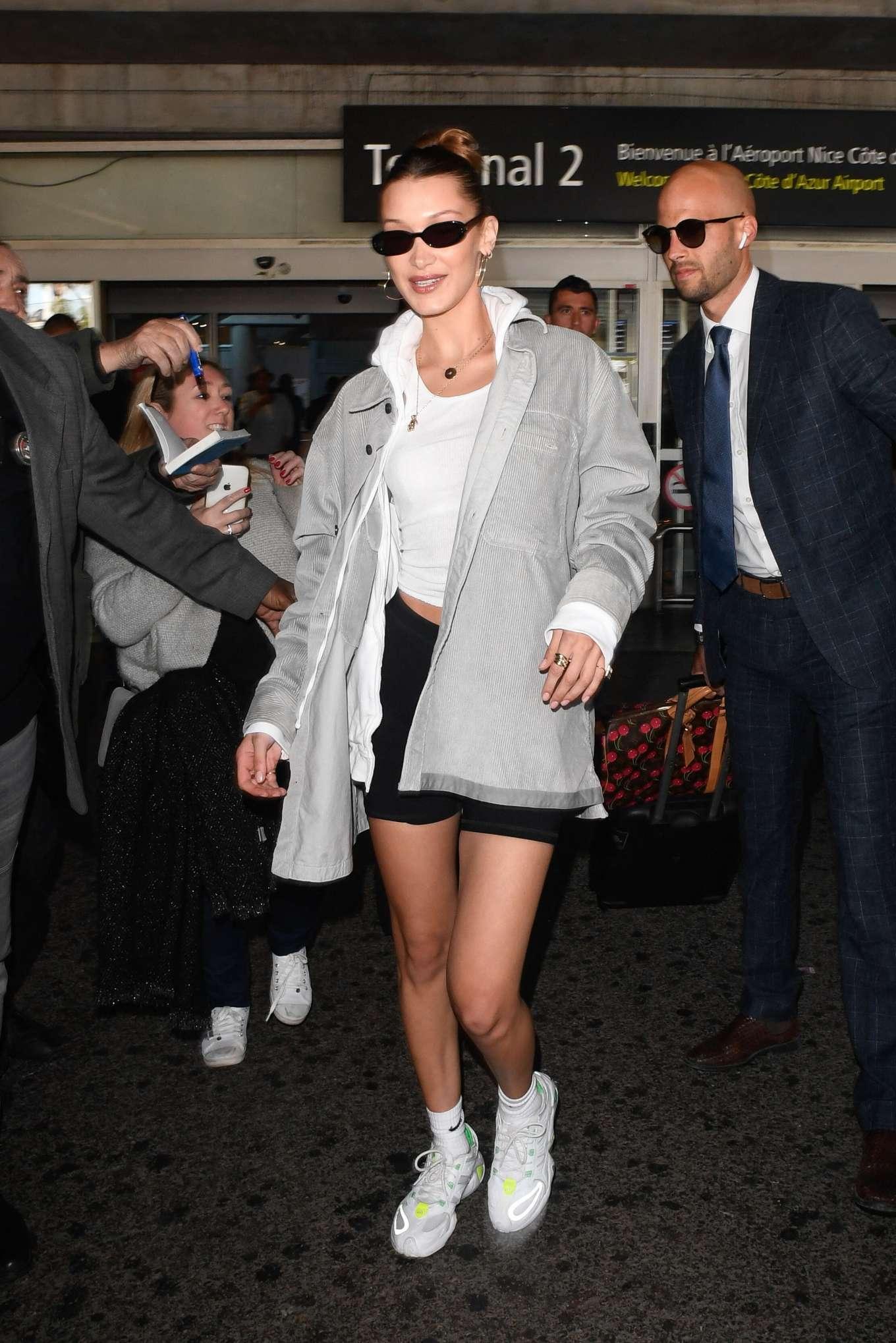 Bella Hadid 2019 : Bella Hadid: Arrives at Nice Airport -08