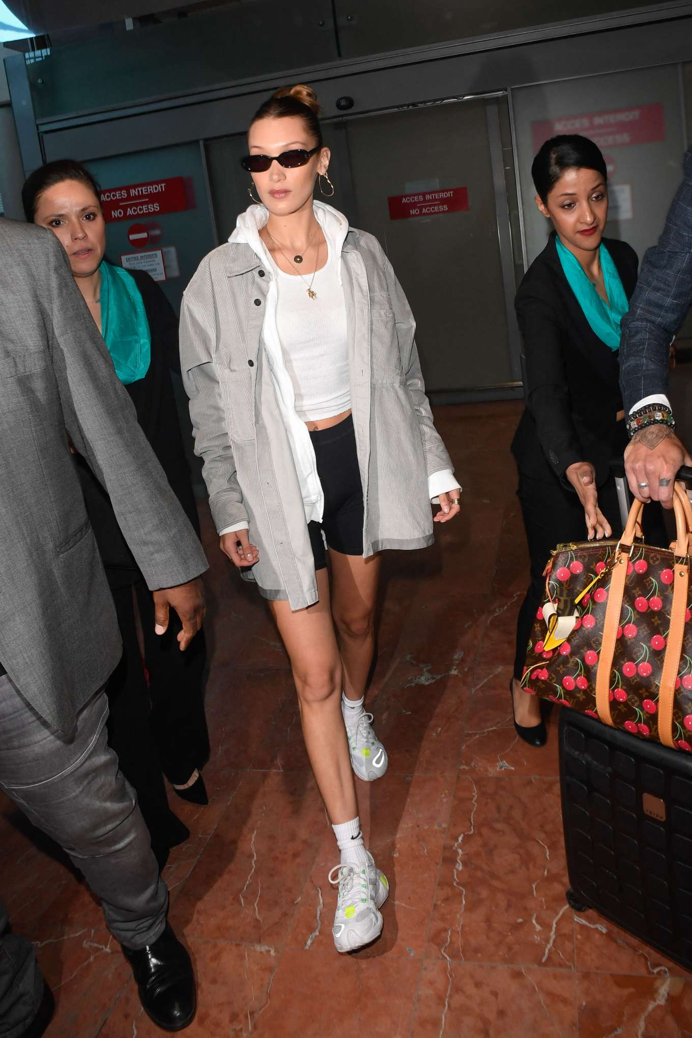 Bella Hadid 2019 : Bella Hadid: Arrives at Nice Airport -13