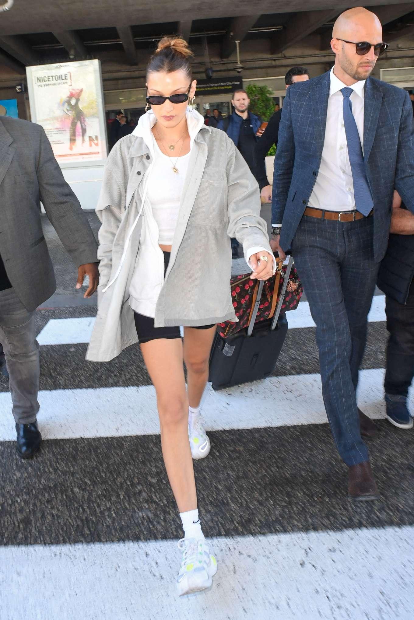 Bella Hadid 2019 : Bella Hadid: Arrives at Nice Airport -15