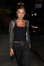 Bella Hadid - Arrives at the Peppermint Club in West Hollywood