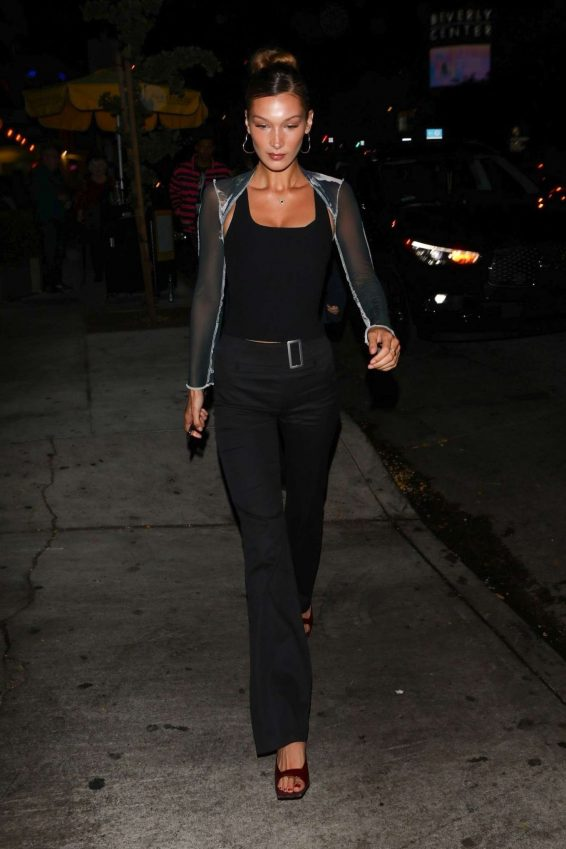 Bella Hadid – Arrives at the Peppermint Club-28