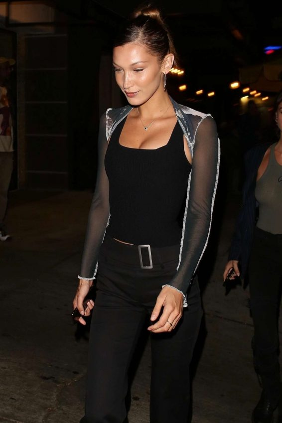 Bella Hadid – Arrives at the Peppermint Club-30
