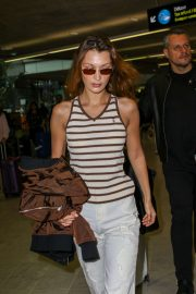 Bella Hadid at Nice Airport in France