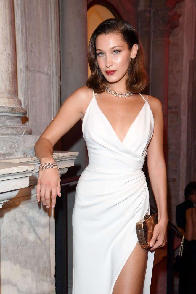 Bella Hadid - attends Bvlgari Party at Scuola Grande della Misericordia in Italy