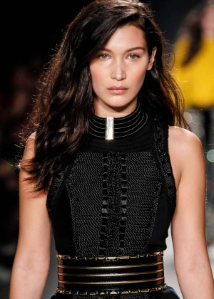 Bella Hadid - Balmain x H&M Collection Launch in NYC