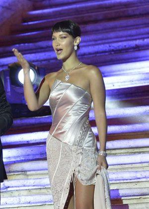 Bella Hadid - Bulgari's Goldea the Night Fragrance Release Event in Rome