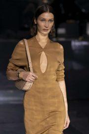 Bella Hadid - Burberry 2020 Show at London Fashion Week