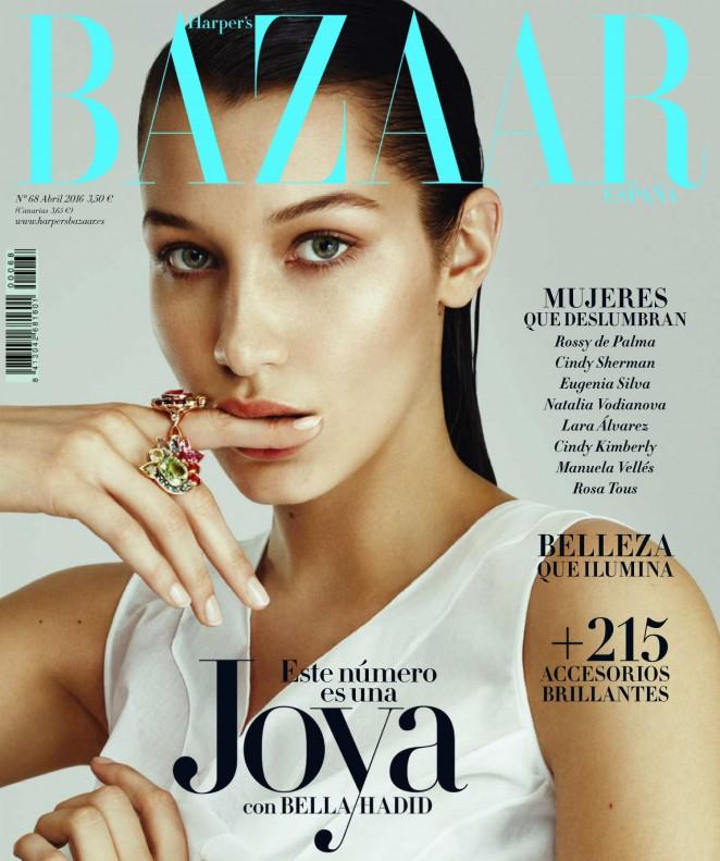 Bella Hadid by Txema Yeste for Harper's Bazaar Spain (April 2016)