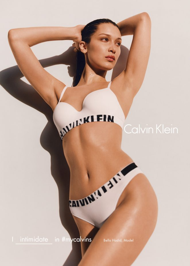 Bella Hadid - Calvin Klein #myCalvins Fall 2016 Campaign