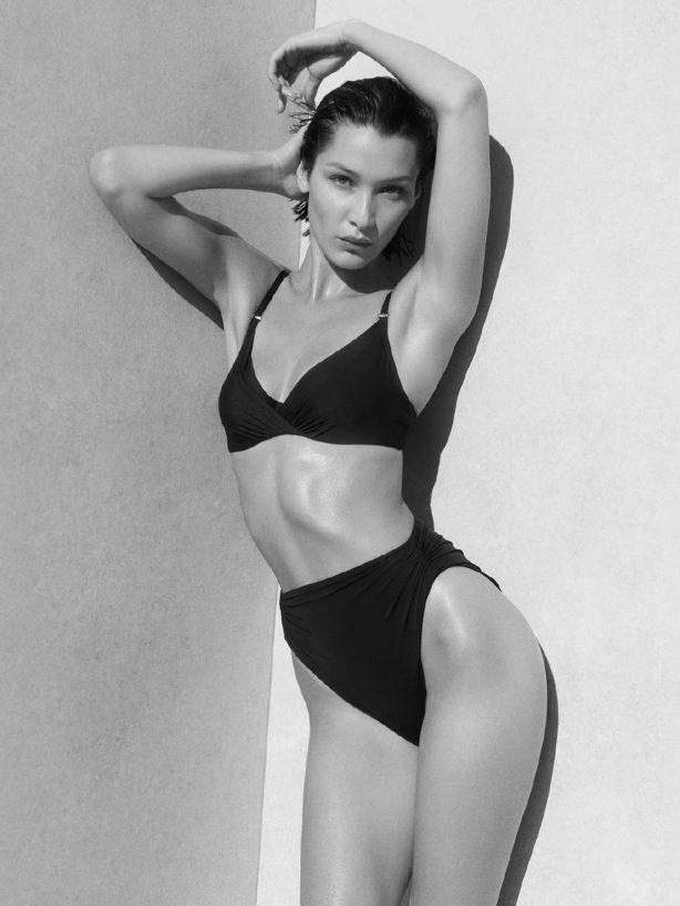 Bella Hadid - Calvin Klein Swimwear 2020 Campaign (June 2020)
