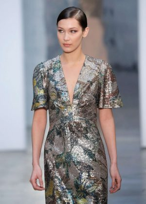 Bella Hadid - Carolina Herrera Runway Show at 2017 NYFW in NY