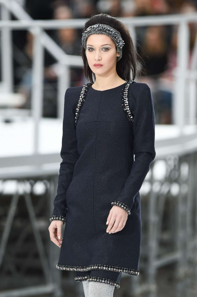 Bella Hadid - Chanel Runway Show at 2017 PFW in Paris