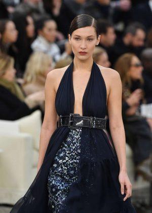 Bella Hadid - Chanel Show SS 2017 in Paris