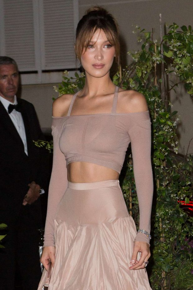 Bella Hadid - Dior And Vogue Paris Dinner in Cannes